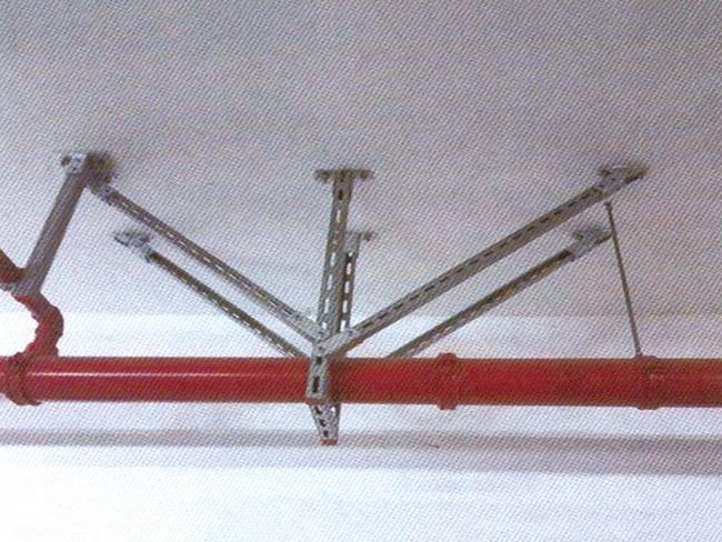 单悬管抗震支吊架