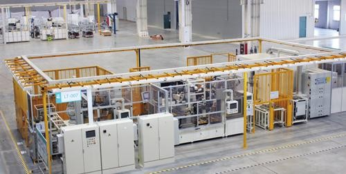 激光焊接自动化产线