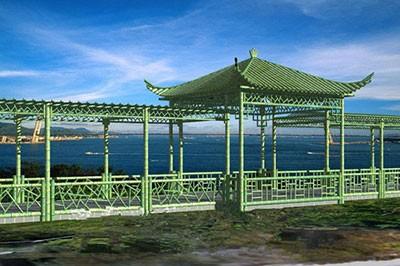 竹长廊设计