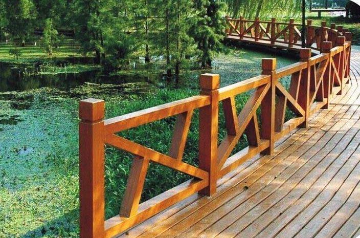 仿木护栏与石护栏的区别