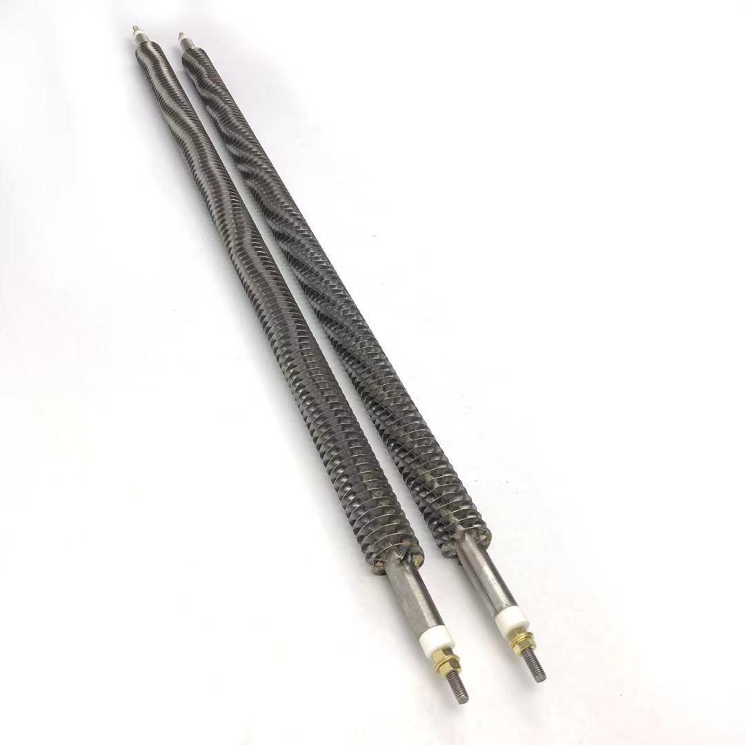 电加热管厂家一分钟介绍翅片式加热管有哪些性能呢