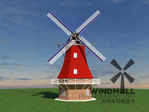 景观荷兰风车