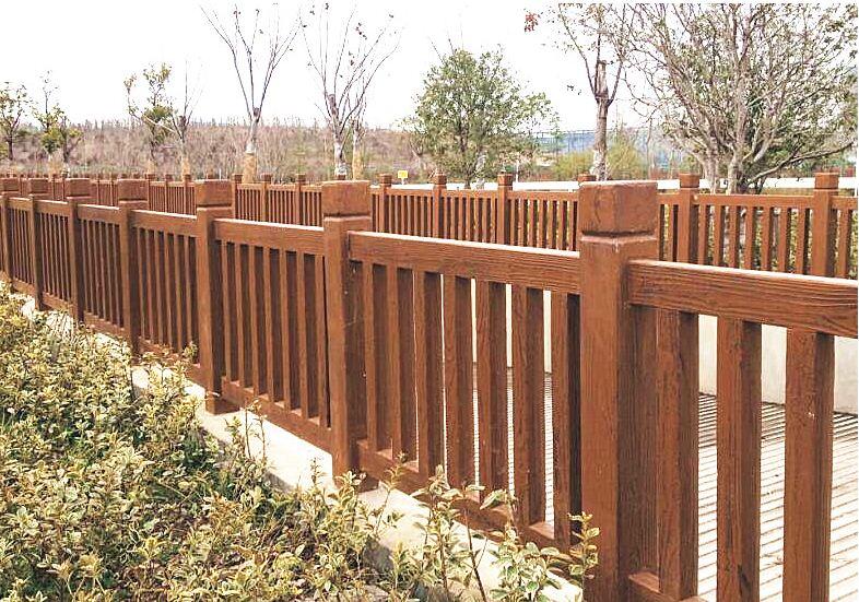 仿木栏杆产生掉漆的原因分析