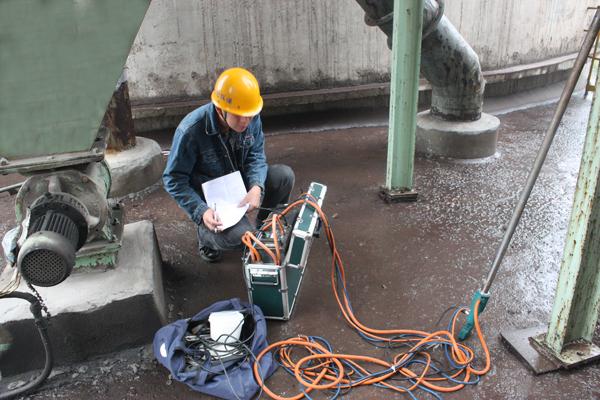 福清污水厂厂房环境检测