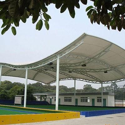 篮球场雨棚