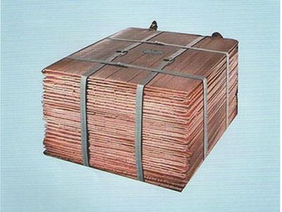 电解金属铜
