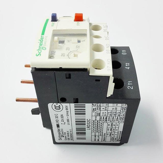 施耐德LRD32热过载继电器
