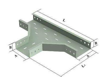 水平三通托盘式桥架