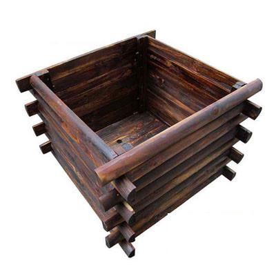 青海防腐木花箱需要做防水处理吗?