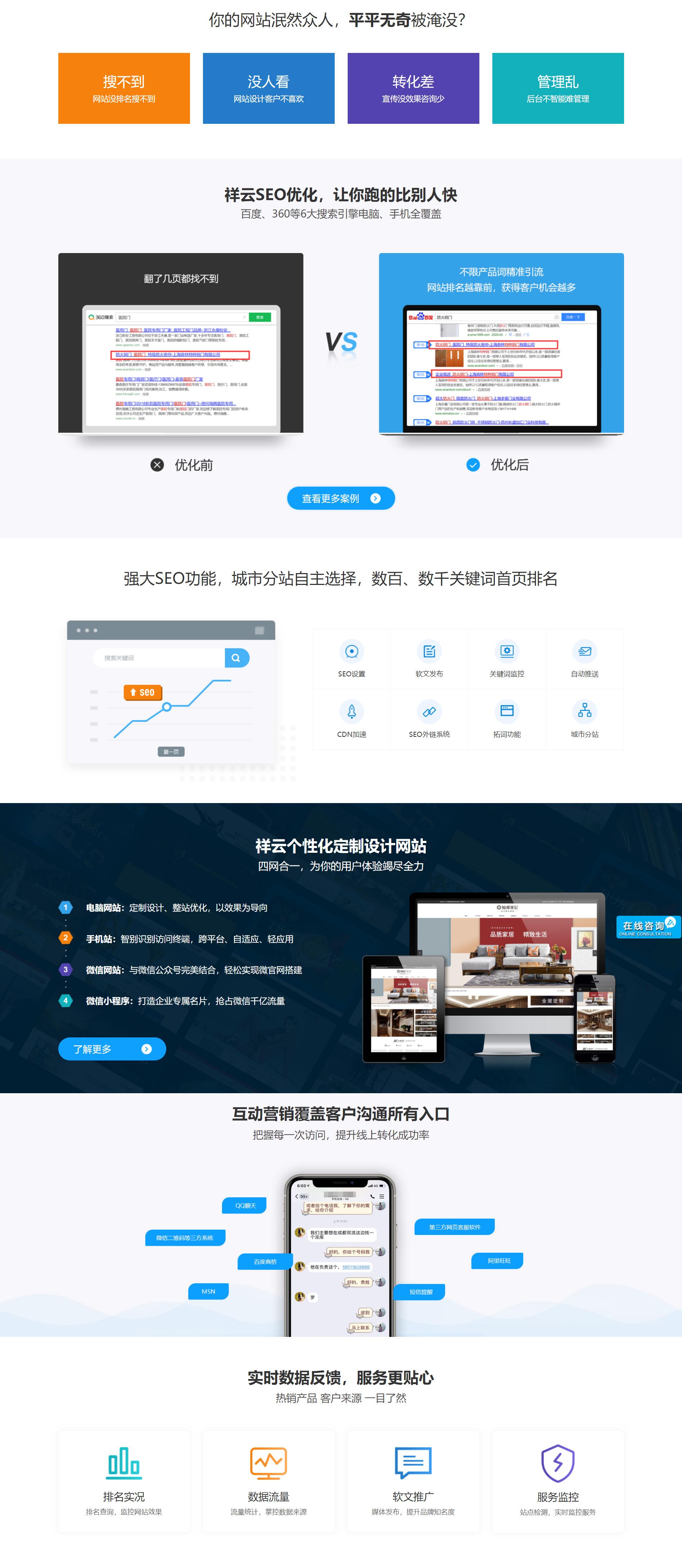 內蒙古網站建設|包頭網頁設計|網站開發|官網搭建|祥云平臺-艾尚網電子商務