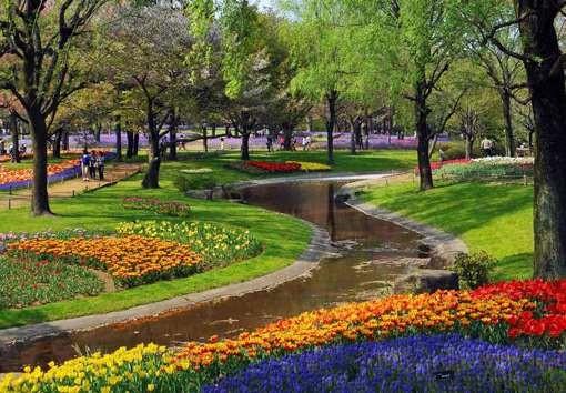 园林绿化能促进旅游业的发展和提高