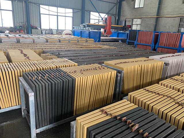 仿石砖工厂环境