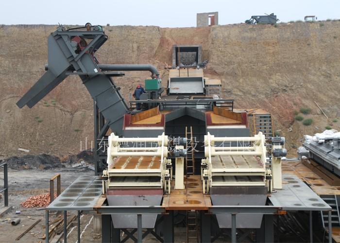 德润选煤设备谈洗煤设备安全禁止行为