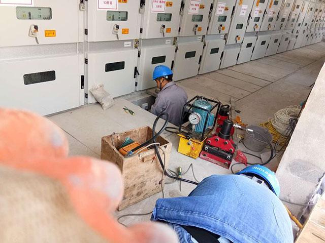 配电室安装施工
