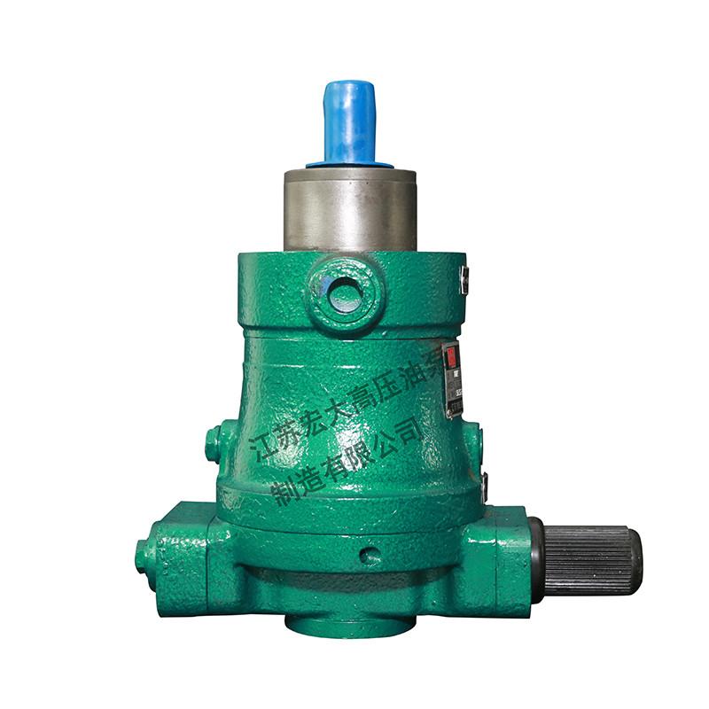 直轴式轴向柱塞泵是怎么进行工作的呢?