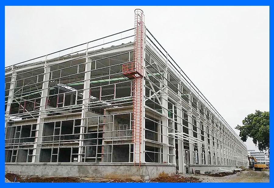 钢结构建筑质量优势明显,钢铁工业发展促进成本端改善
