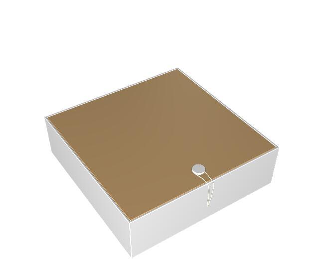 搭扣箱式盒