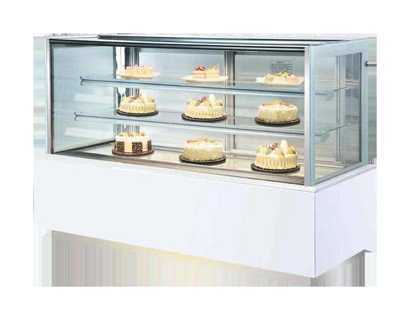 三层直角蛋糕柜