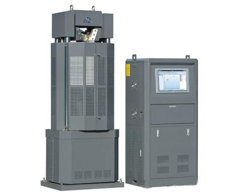 WAW电液伺服万能材料试验机