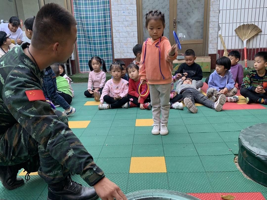儿童军警活动体验课