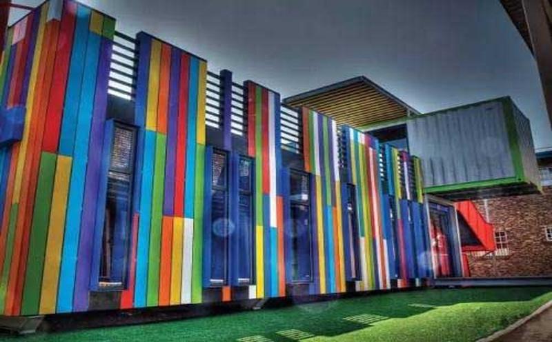 营业用房-集装箱房图书馆