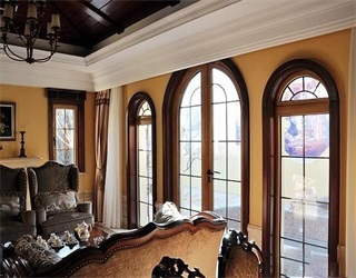 沃默与铝包木门窗