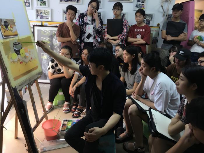 河南美术高考考前培训画室水平哪家更高?