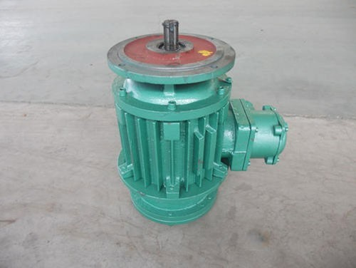 Explosion proof electric hoist operating motor