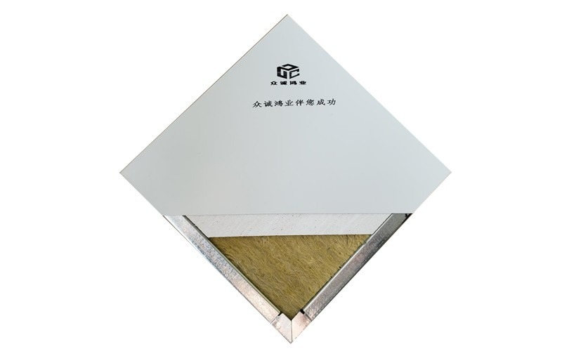 手工玻镁岩棉净化板