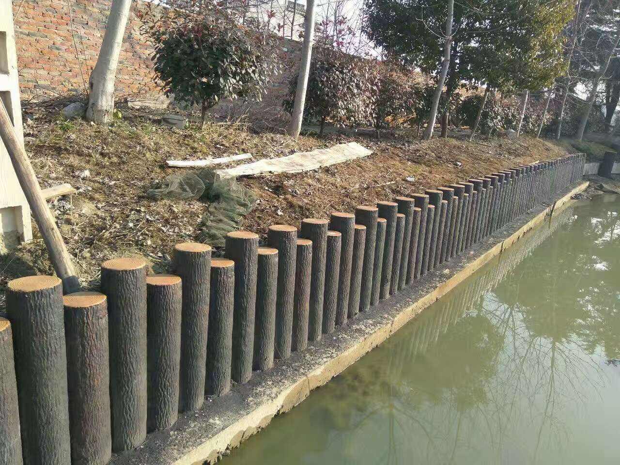 上海仿木水泥桩