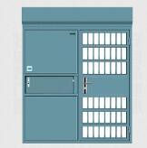 怎样防止电动平移监室门被故意破坏?