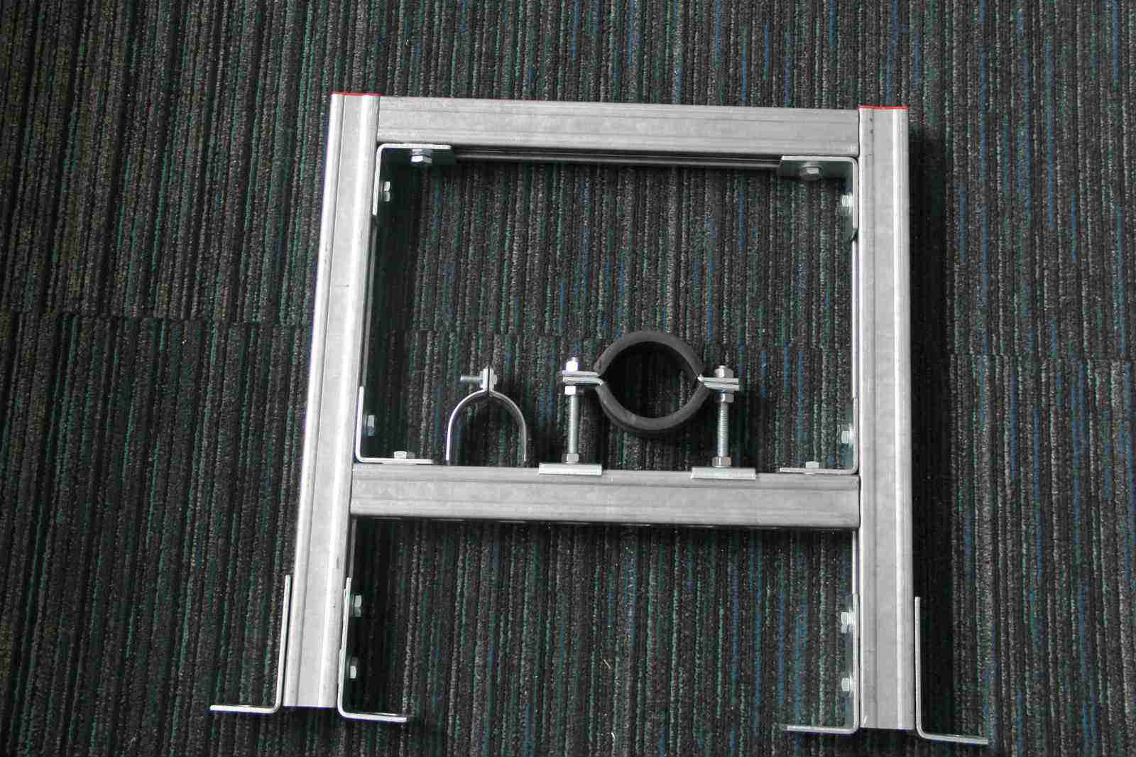 工程中在安裝組合建筑抗震支架時要如何正確安裝
