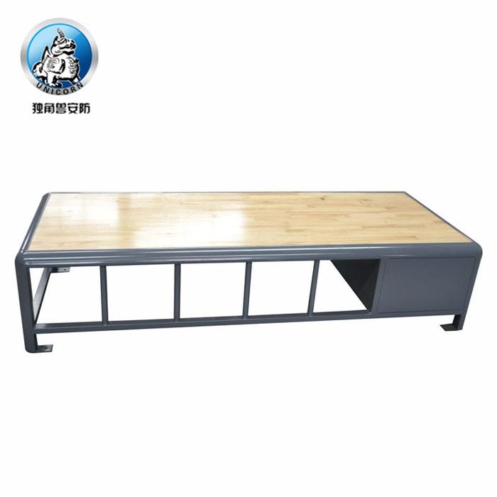 Y型监舍床的主体表面处理为静电喷塑