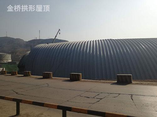 东方希望集团晋中铝业六边形煤棚