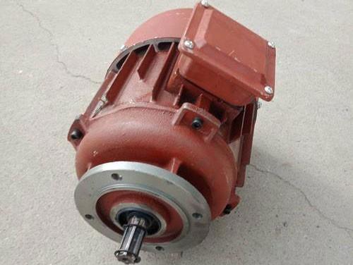 Hoist running motor