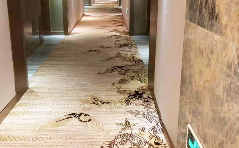 莹峰宾馆地毯铺设