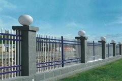 四横梁防护栏