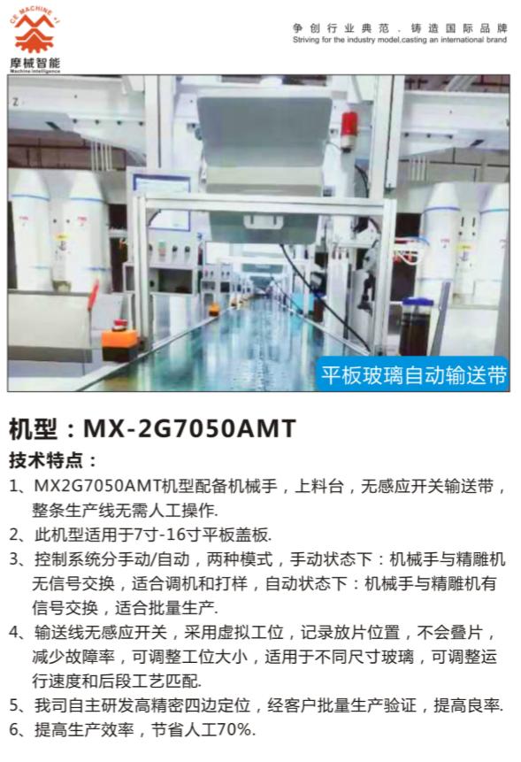 全自动CNC玻璃生产线