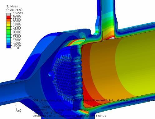 换热器设计、有限元应力分析