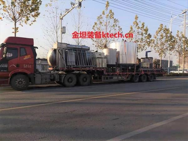 山东含盐废水MVR蒸发器发货