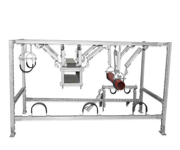 侧向抗震支架厂家介绍抗震支吊架侧向和纵向安装规范