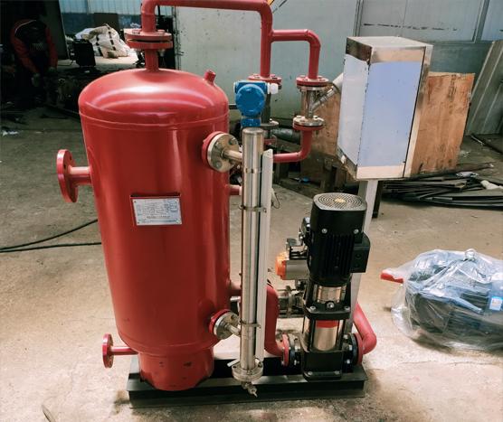 冷凝水锅炉案例