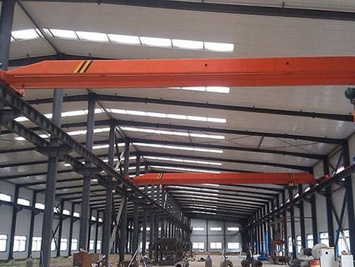 Electric single beam crane