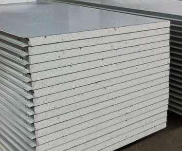 Application of rock wool sandwich board as building material