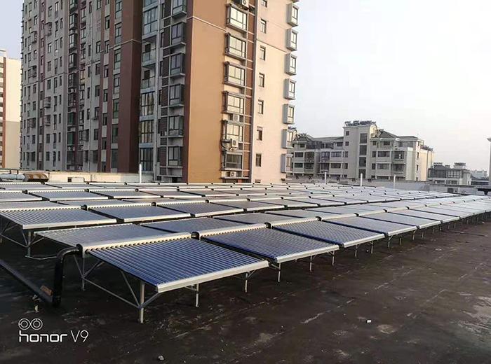 商用太阳能热水器工程案例