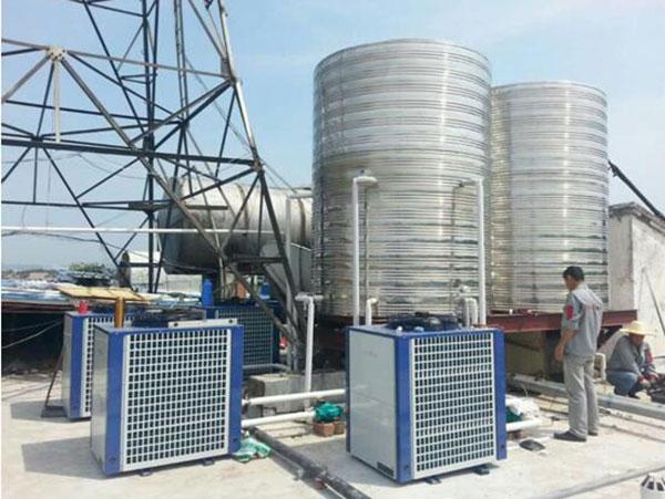 舒城南港酒店20吨超低温空气源机组