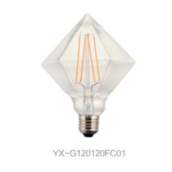 异形LED 灯丝灯 G120球形钻石