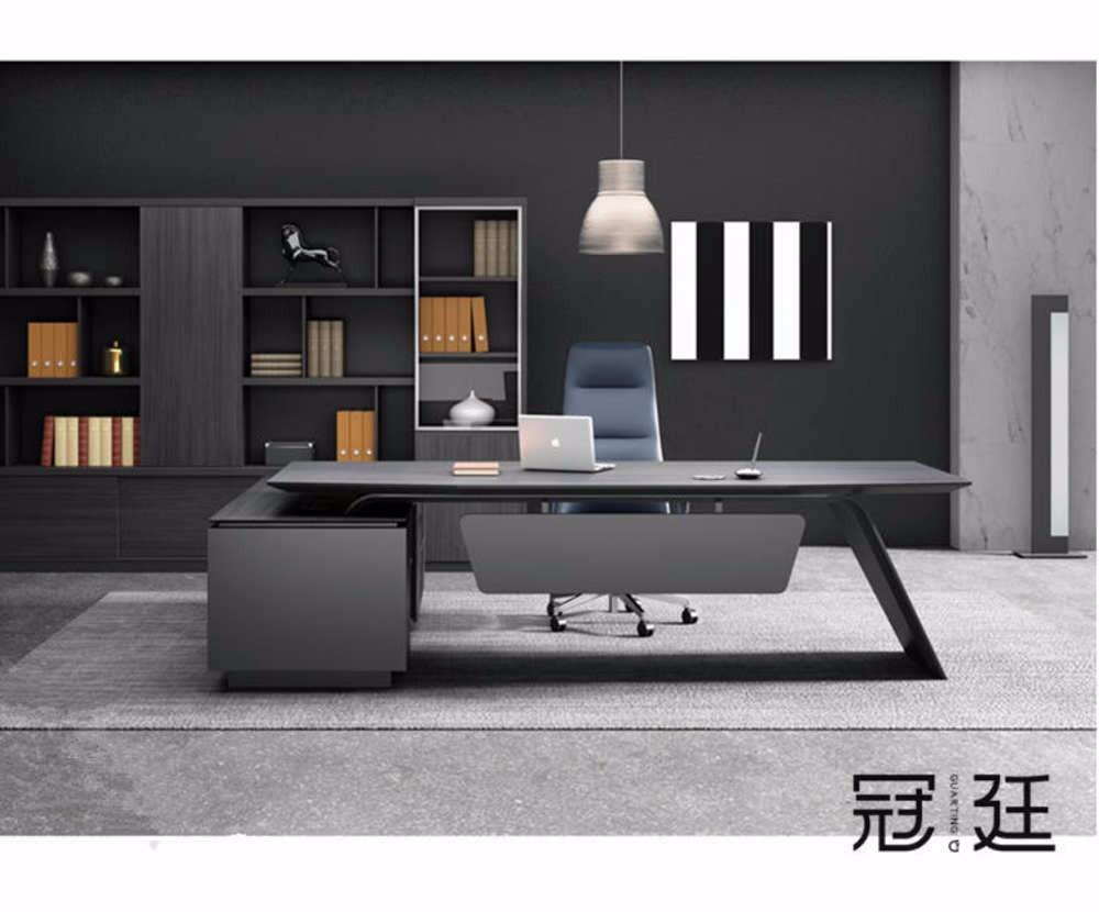 【办公家具】现代时尚大班台办公桌