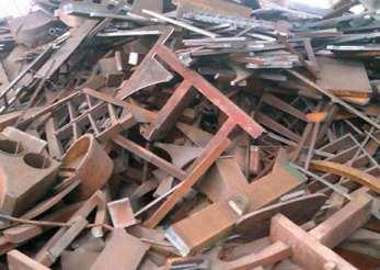 废铁回收中有色金属面临的问题