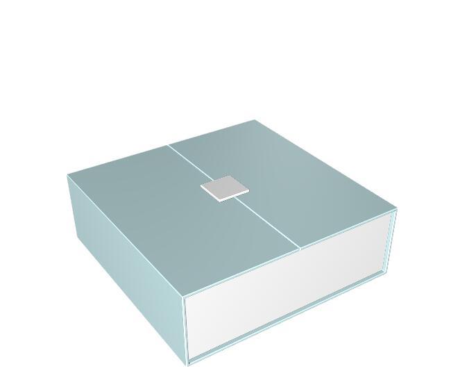 对开书型盒